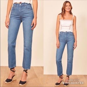 Reformation Cynthia High Waisted Relaxed Jean